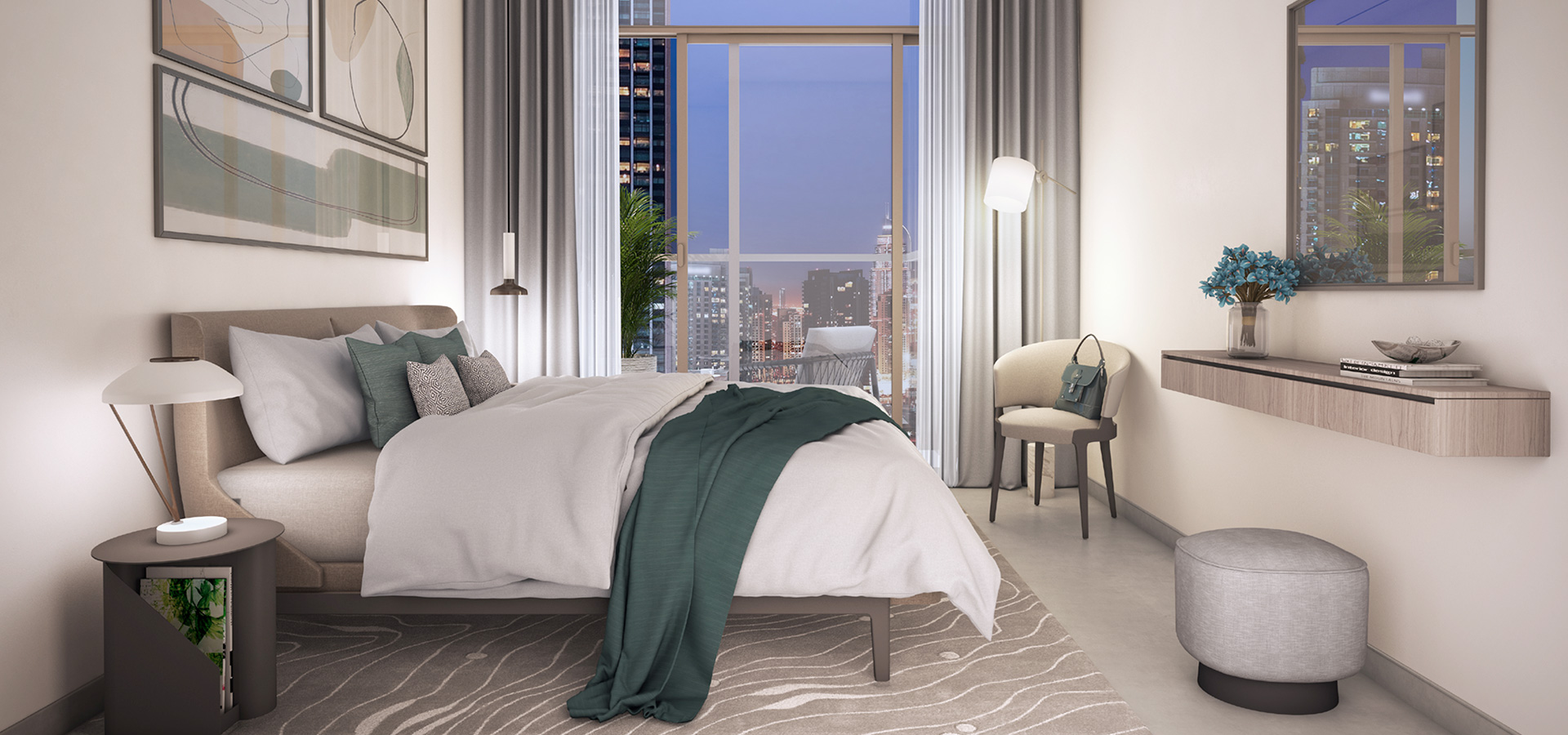 Emaar Address Residences Fountain Views in Downtown Dubai