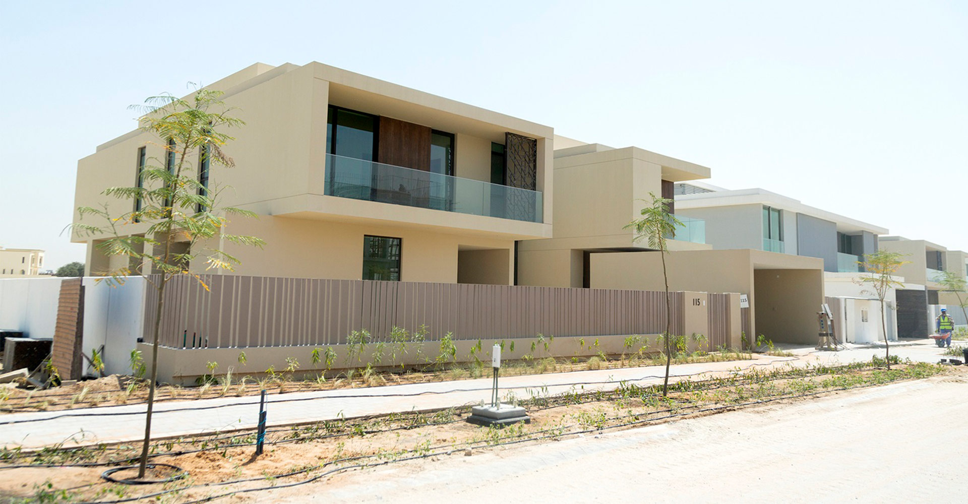 Emaar Fairway Vistas Villas in Dubai Hills Estate Exterior