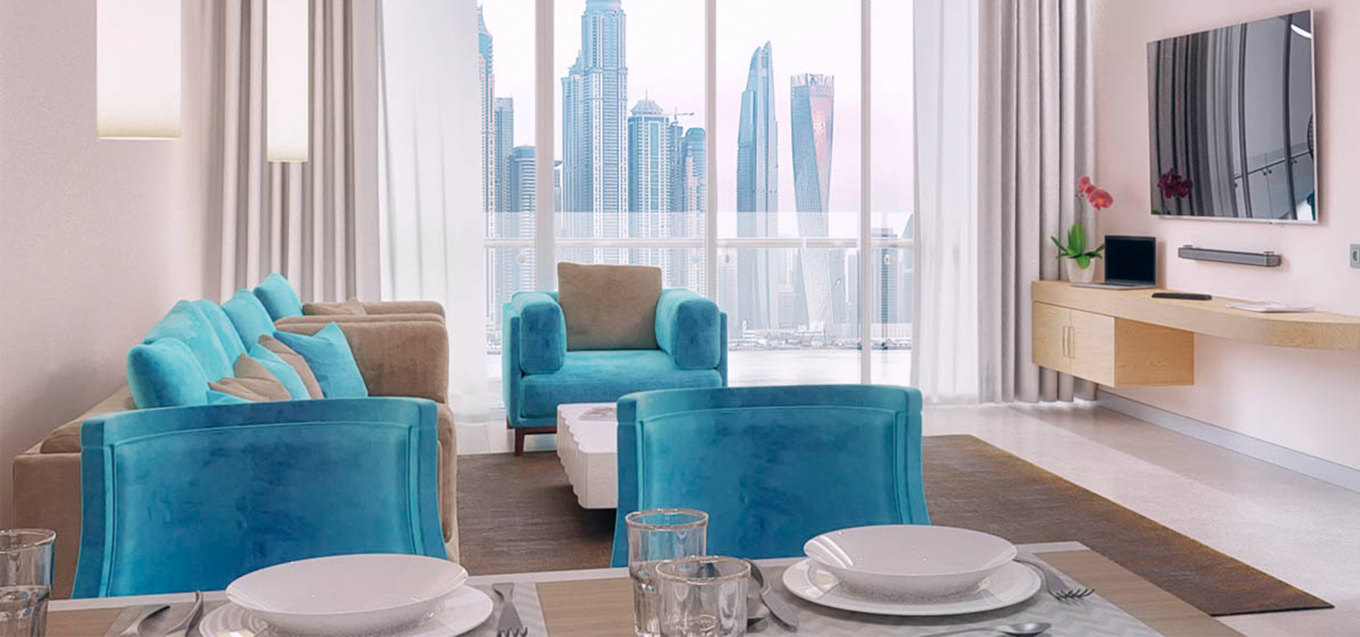 Seven Palm Residences in Palm Jumeirah, Dubai